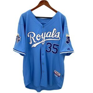 Kansas City Royals Hosmer #35 Baseball Jersey 52
